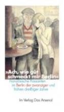 ` Ach, wie gut schmeckt mir Berlin `