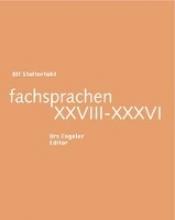Stolterfoht, Ulf fachsprachen XXVIII-XXXVI