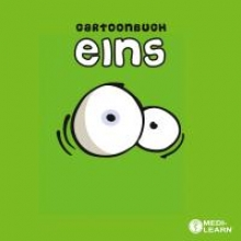 Cartoon-Buch eins