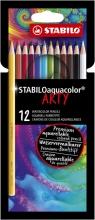 , STABILO Aquacolor Etui 12 Stuks