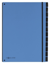, Sorteermap Pagna Trend 12 tabs A4 lichtblauw