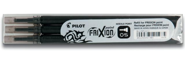 , Rollerpenvulling PILOT Frixion Hi-Tecpoint zwart 0.25mm