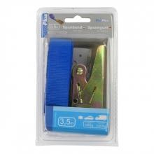 , Spanband ProPlus blauw met ratel 3,5m