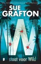 Sue  Grafton W staat voor wild