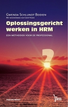 Gwenda  Schlundt Bodien Oplossingsgericht werken in HRM