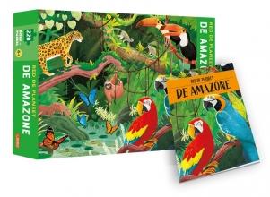 Valentina Bonaguro , De Amazone - Red de planeet - puzzel en boek