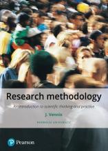 Jac Vennix , Research methodology
