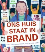 Jeanette  Winter Ons huis staat in brand