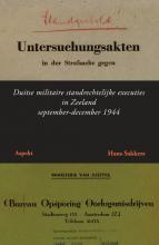 Hans Sakkers , Duitse militaire standrechtelijke executies in Zeeland