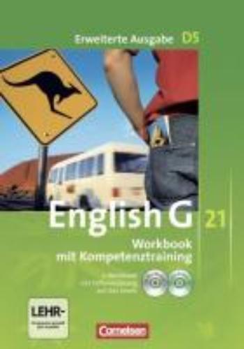 Seidl, Jennifer,   Schwarz, Hellmut,English G 21. Erweiterte Ausgabe D 5. Workbook mit e-Workbook und Audios online