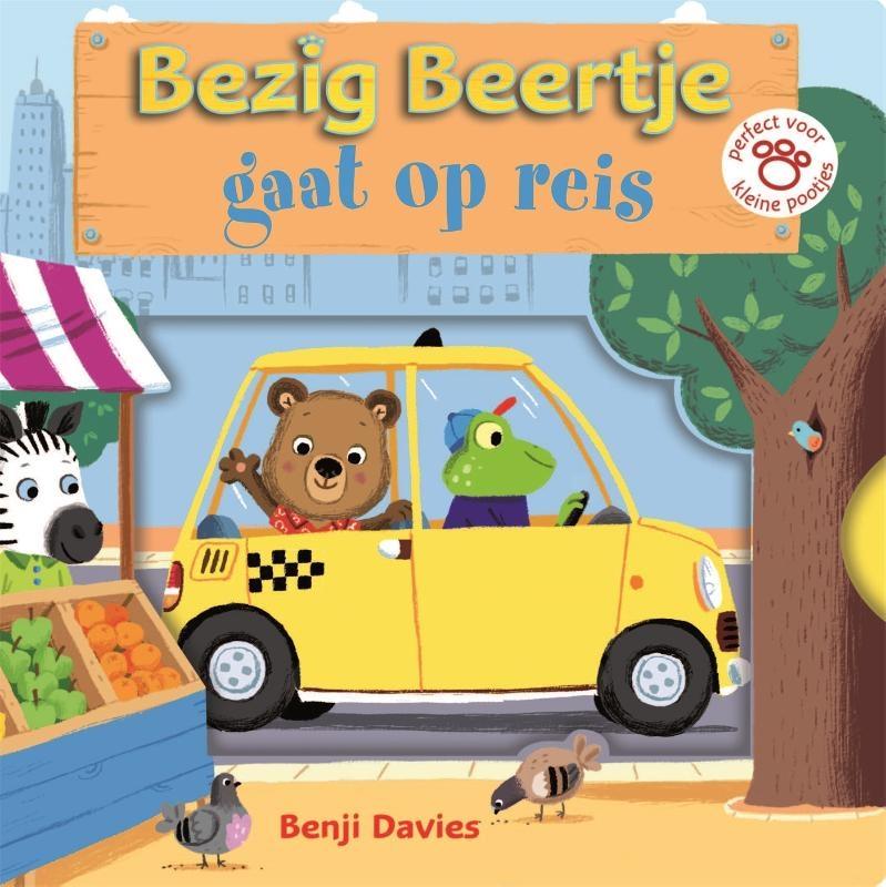 Benji Davies,Bezig Beertje gaat op reis