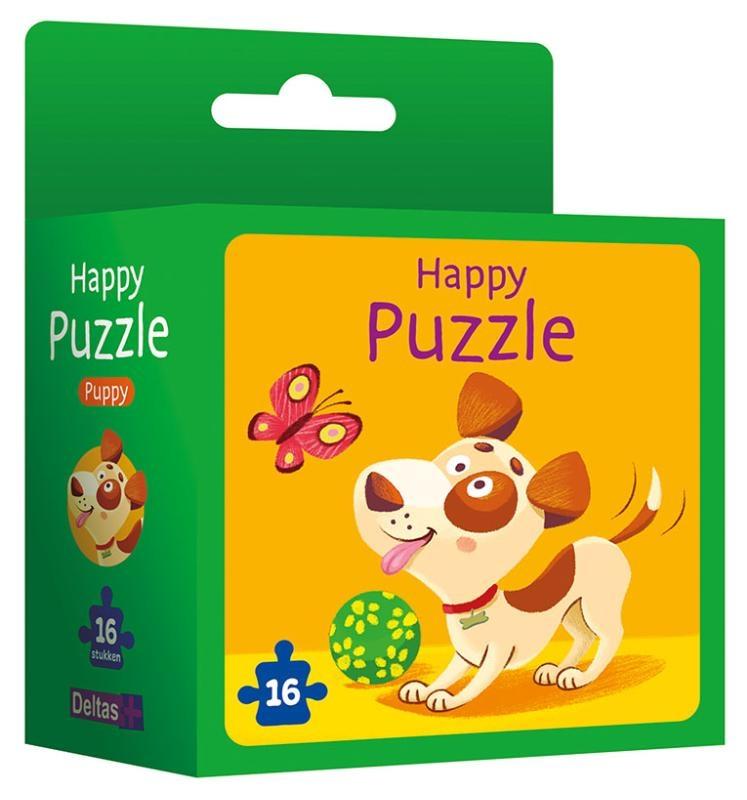 ,Happy puzzle - puppy Happy puzzle - chiot