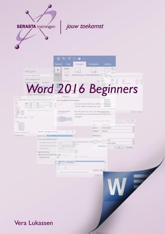 Vera Lukassen,Word 2016 beginners