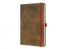 ,notitieboek Conceptum 194blz hard Vintage Brown A4          gelinieerd