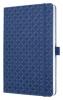 ,notitieboek Sigel Jolie Flair A5 hardcover gelinieerd       indigo blauw