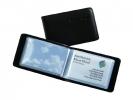 ,Visitekaartmap Sigel Zwart 40kaarten 90x58mm