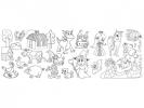 ,tekenrol Info Notes 300mm x 4m Boys & Girls