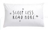 ,<b>Kussensloop sleep less, read more per 10 stuks</b>