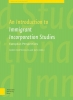 An Introduction to immigrant incorporation studies,European perspectives