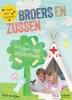 Anjet van Dijken ,Klets, praat en doe-boek voor broers en zussen in en om het ziekenhuis