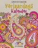 <b>Creative Colors Art Therapy</b>,Verjaardagskalender kleuren voor volwassenen