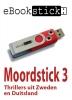 eBookstick -Moordstick 3 3,vijf gloednieuwe thrillers als ebooks. Vier van Zweedse bodem en één uit Duitsland, geleverd op usb-stick in fraaie metalen geschenkdoos met venster