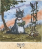 ,<b>Ecce Florescunt Lilia kalender 2019</b>