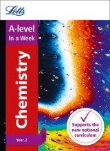 Letts A-Level A -level Chemistry Year 2 In a Week