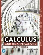 Marvin L. Bittinger,   David J. Ellenbogen,   Scott J. Surgent Calculus and Its Applications