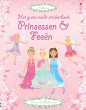 Grote mode stickerboek Prinsessen en Feeen