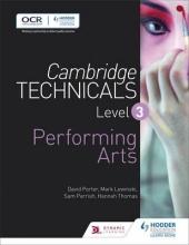 Porter, David Cambridge Technicals Level 3 Performing Arts