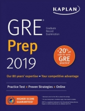 Kaplan GRE Prep 2019