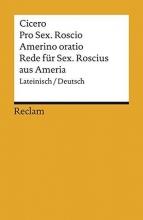 Cicero, Marcus Tullius Rede für Sextus Roscius aus Ameria