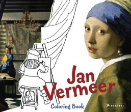 Prestel Jan Vermeer Colouring Book
