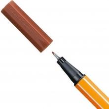 , Stabilo fineliner 88 kleur 38 bruin