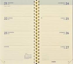 , Agendavulling 2021 Brepols Interplan spiraal 7dag/2pag NL