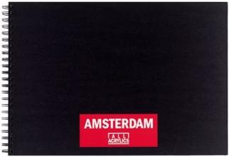 Talens amsterdam acrylverfblok a3 oblong 250 gr 30 vel 93023020