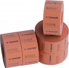 , Consumptiebon Combicraft 1/2 consumptie 500 stuks oranje