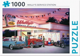 , Wally`s service station - puzzel 1000 stukjes