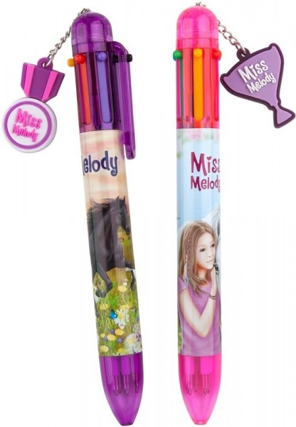 ,Miss melody 6 kleurenpen