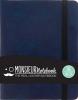 , Monsieur Notebook A6 - blanko (140gr) blau