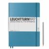 <b>Lt354759</b>,Leuchtturm notitieboek master slim a4 blanco nordic blauw
