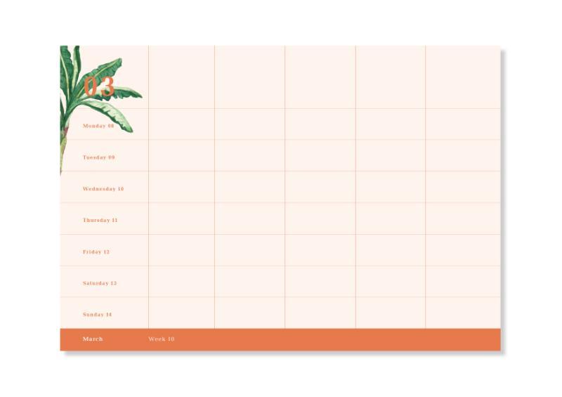 ,&INK Familieplanner 2021 - Oranje