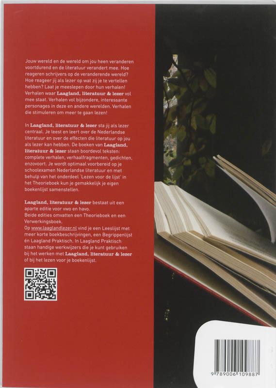 Gerrit van Meulen, Willem van der Pol,Laagland Literatuur en lezen VWO Theorieboek