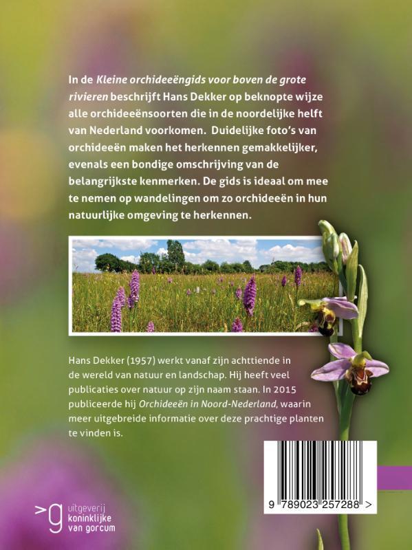 Hans Dekker,Kleine orchideeëngids voor boven de grote rivieren