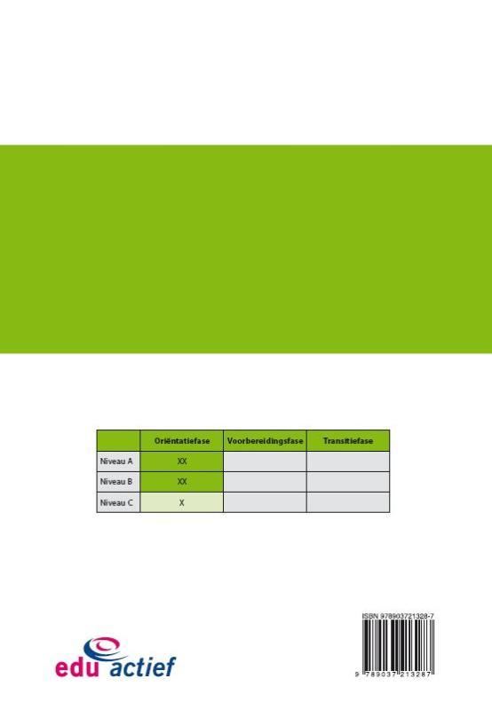 Edu`Actief b.v.,Loopbaanorientatie en begeleiding Loopbaanlogboek voor fase 1; Orientatie