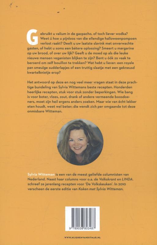 Sylvia Witteman,Koken met Sylvia Witteman