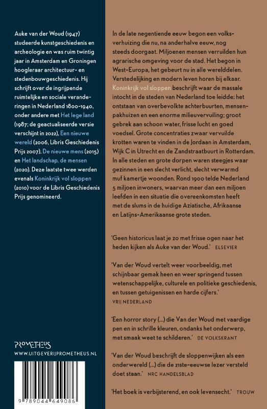 Auke van der Woud,Koninkrijk vol sloppen