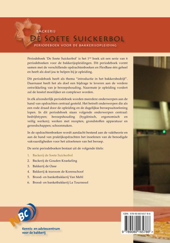 Nederlands Bakkerij Centrum,Backerij de Soete Suickerbol