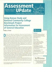 Assessment Update Volume 19, Number 5, September-october 2007